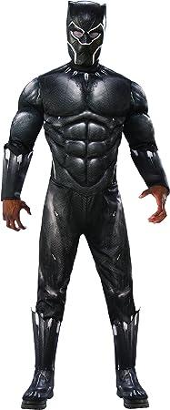Rubies - Disfraz de Pantera Negra Deluxe, para adulto, talla XL ...