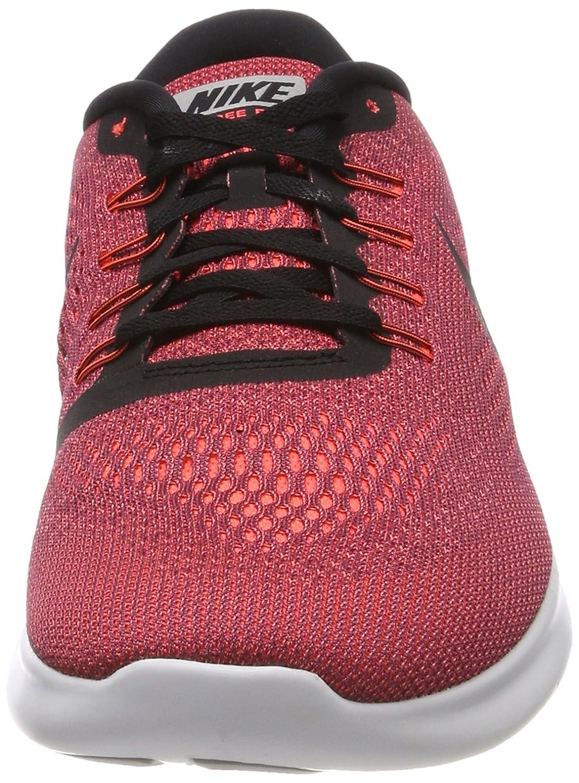 Nike Free RN Zapatillas de Orange/Black/Ocean Gimnasia para White