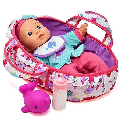 Amazon.com: Set de alimentación para muñecas de bebé, muñeca ...