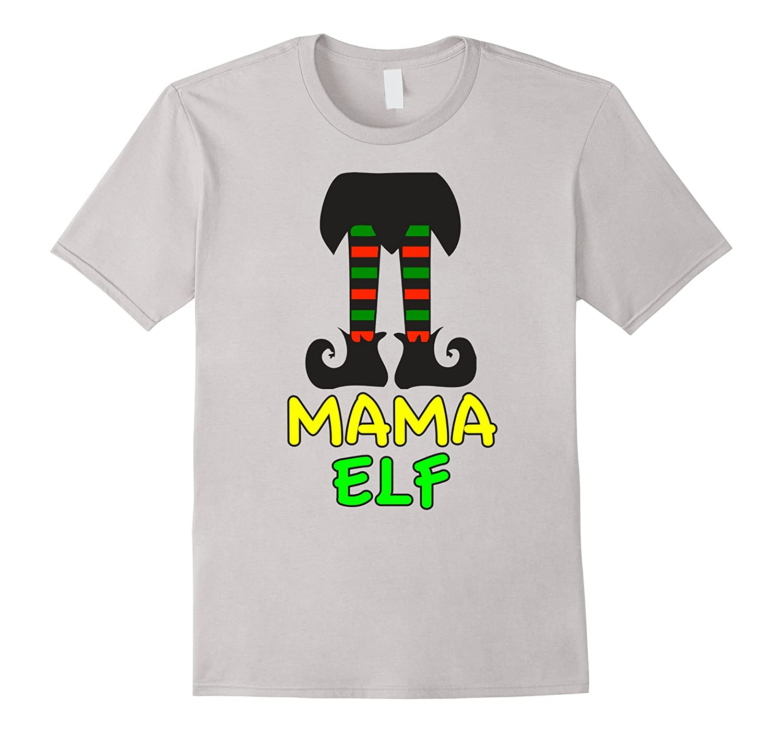 Family Christmas Shirts.Family Christmas Shirts Mama Elf Family Shirts Set Matching Rt