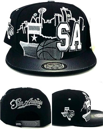 Amazon.com: San Antonio New - Gorra de baloncesto TX Leader ...