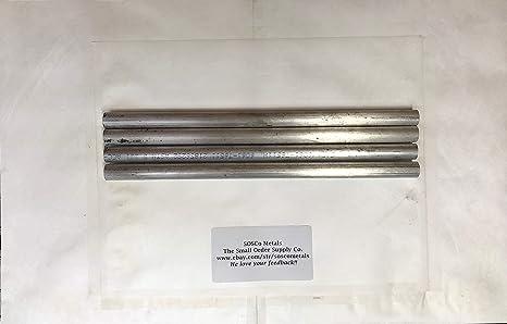 """Aluminum Round Bar Rod 4/"""" Diameter 6061 x 3 1//2/"""""""