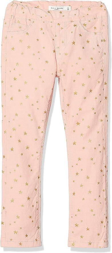 Name It Baby Girls Nmfminnie Poppy SWE Pants Bru Wdi Trouser
