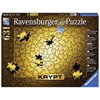 Ravensburger RB15152-3 Rburg - Krypt Gold Spiral Puz 631pc