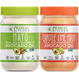Primal Kitchen Avocado Oil Mayo Variety Pack- Includes 1 Original and 1 Chipotle Lime, Gluten and Dairy Free, Whole 30…