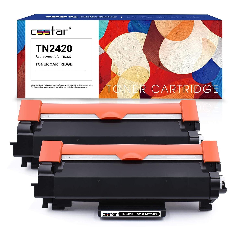 CSSTAR Compatible Cartuchos de Tóner Reemplazo para Brother TN2420 ...