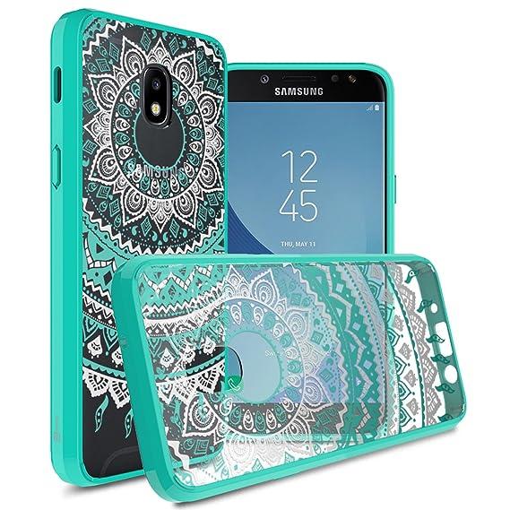 Samsung Galaxy J3 2018 Case, Express Prime 3/J3 Star/J3 Prime 2/Amp Prime  3/Eclipse 2/J3 Aura/Galaxy Achieve Case, CoverON [ClearGuard Series] Slim