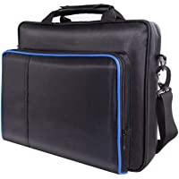 PS4 Pro Bag, PS4 Carrying case, Protective Travel case for Sony Playstation 4 pro, PS4 and PS4 Slim, PSPXbox One/Xbox One X/Xbox 360/Nintendo Switch Storage Hard case
