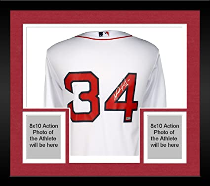 a2f0c6c7aaa Framed David Ortiz Boston Red Sox Autographed Home Majestic Replica Jersey  - Fanatics Authentic Certified