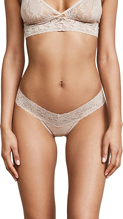 9c9dff778 Hanky Panky Women s Petite Signature Lace Low Rise Thong