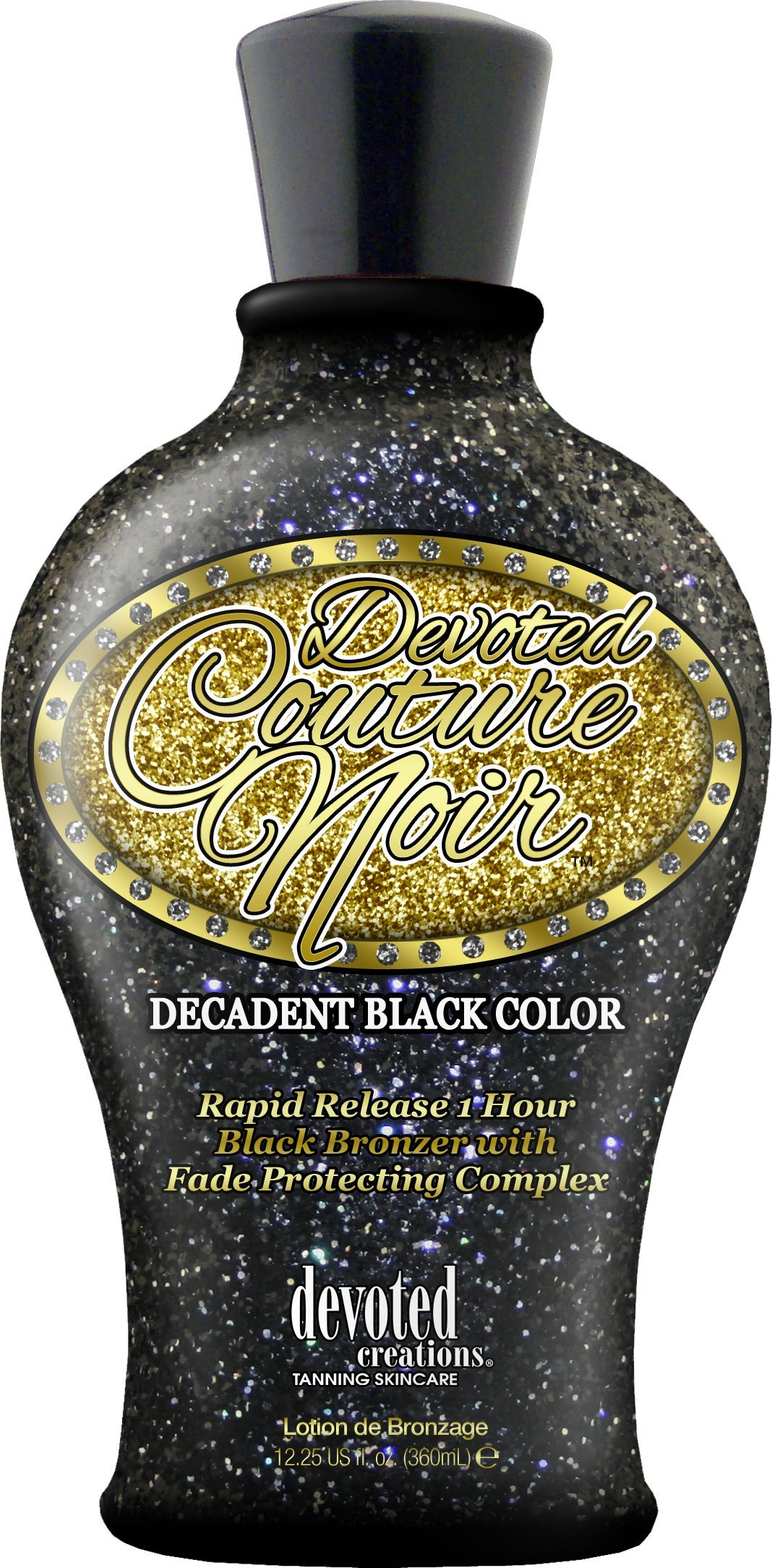 Devoted Creations Devoted Couture Noir Silicone Black Bronzer 12.25 Oz, 2012
