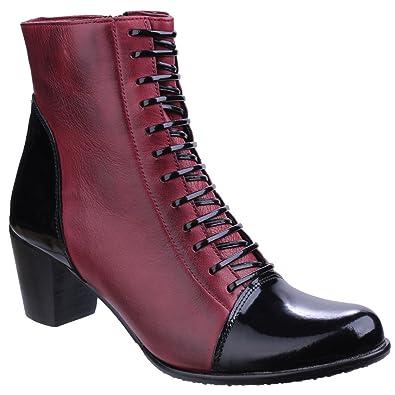 cd4fe71f985 Riva Womens/Ladies Adria Heeled Ankle Boots (6 UK) (Purple/Black ...