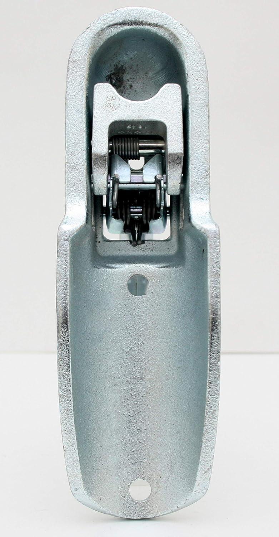 Albe Berndes Kugelkupplung EM 300R Ausf/ührung G f/ür 70mm Rundrohr Anschluss 05670 Anh/änger Kupplung bis 3000 kg