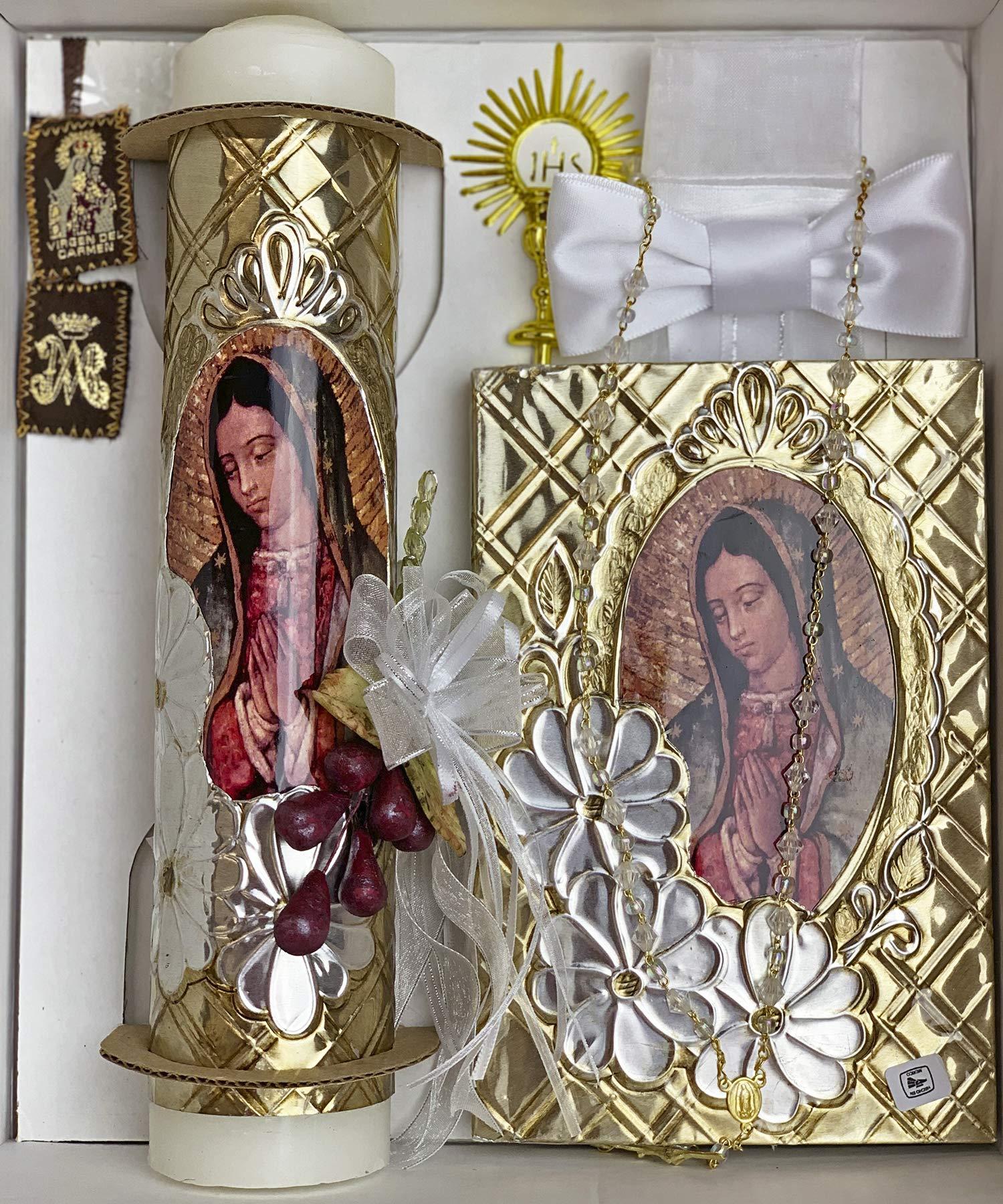 cocochildren MX-004 Marian Communion Candle Set