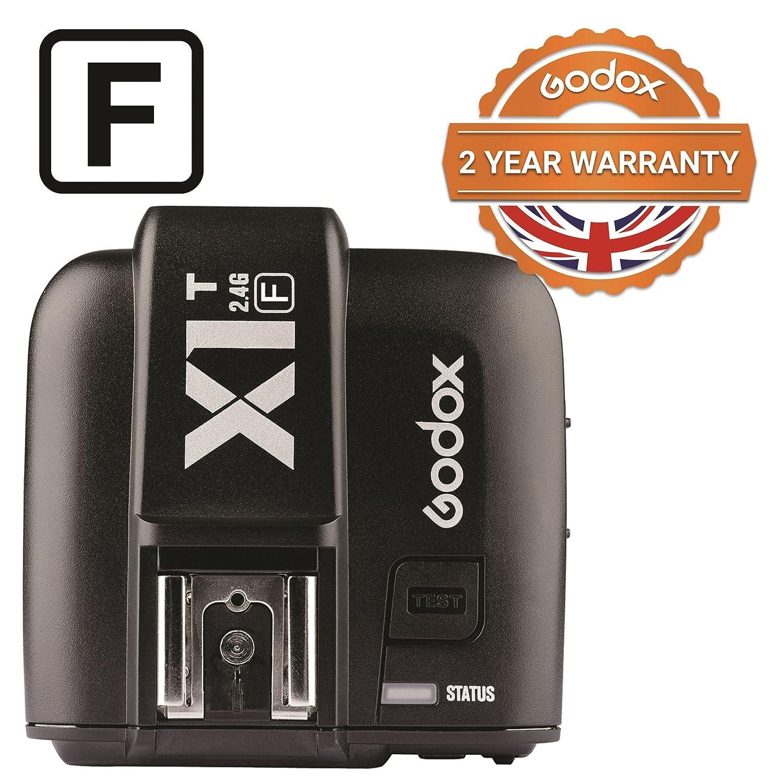 Godox X1T-F Trigger for Fuji Fujifilm Cameras TTL 1/8000s HSS 2.4G Wireless Transmitter 32 Channels - With PERGEAR Cleaning Cloth X1T-F+PERGEAR Cleaning Kit