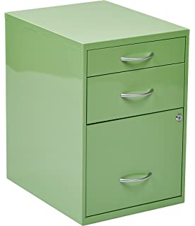 office star 3drawer metal file cabinet green finish