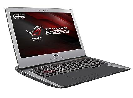 ASUS ROG G752VY-GC118T ordenador portatil Negro, Metálico Portátil 43,9 cm (