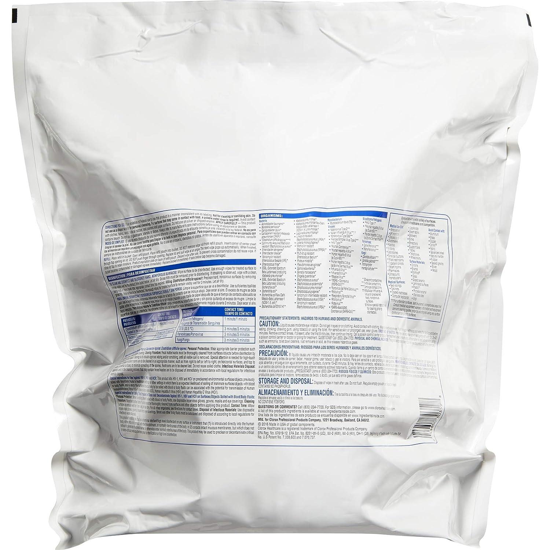 Amazon.com: Clorox 30359 Healthcare Bleach Germicidal Wipe, Refill (110 Count): Industrial & Scientific