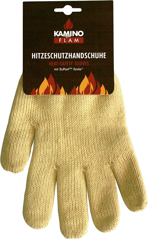 Profi BBQ Grillhandschuhe Kamin Ofen Handschuhe Feuerfest nach EN407 EN388