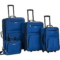 4-Piece Rockland Luggage Set (Blue)