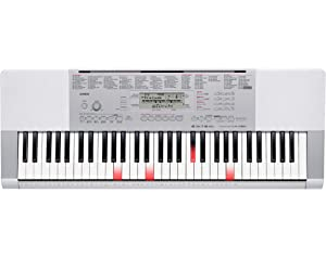 Casio LK280 61 Lighted USB Keyboard Packages with Power Supply
