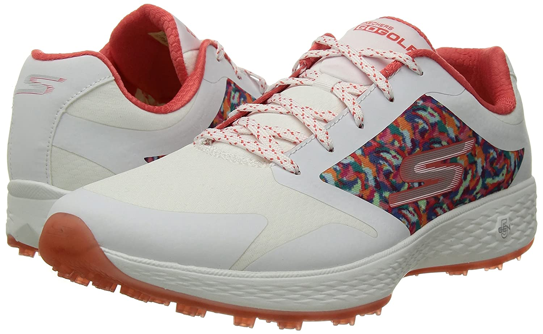 Skechers Golfschuhe 2018 Go Golf Eagle Major Damen Golfschuhe Skechers 14863 Weiß Multi 30ff7c