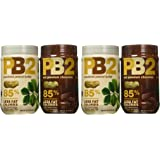 PB2 Powdered Peanut Butter Bundle - 2 Items: Powdered Peanut Butter 16 oz. and Powdered Chocolate Peanut Butter 16 oz