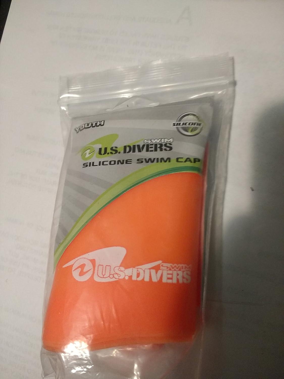 ジュニアシリコンSwim cap-us Divers   B00J0K3QVG