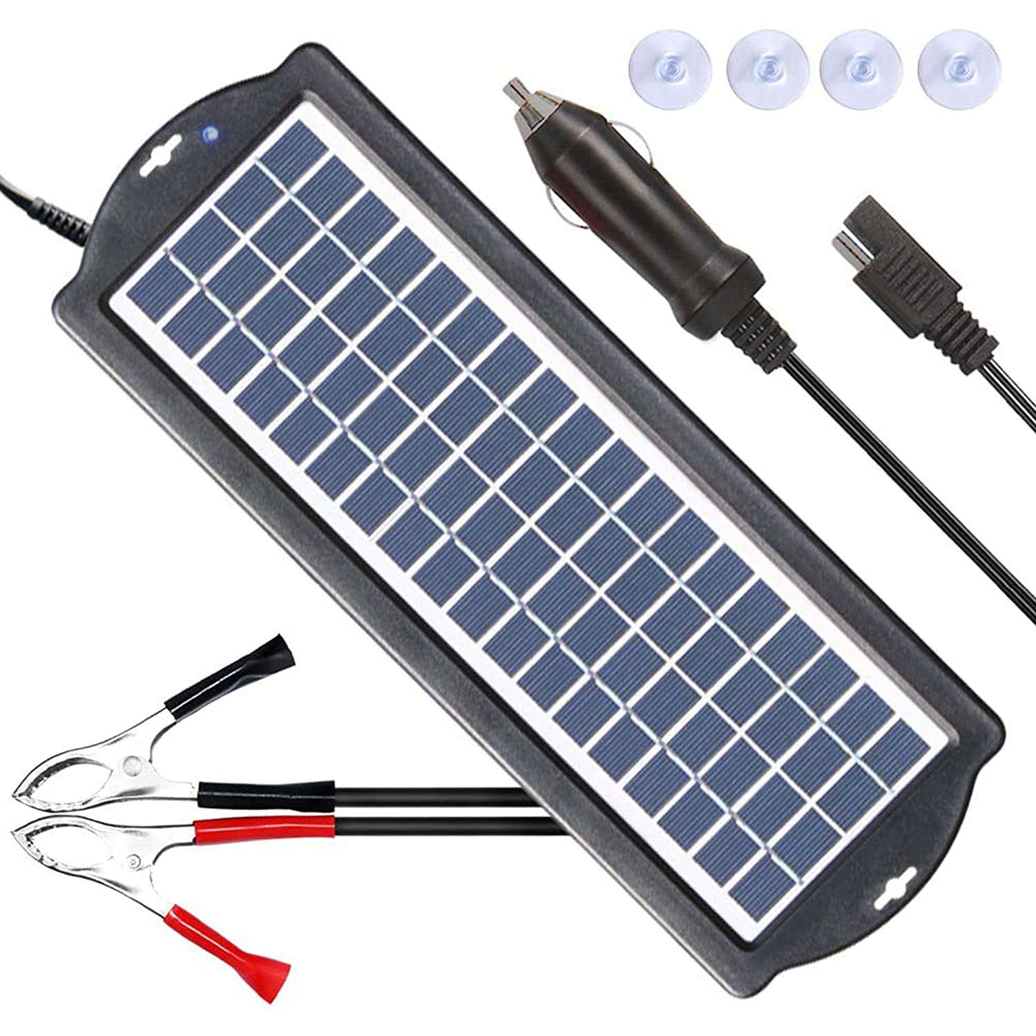 Solar Powered Battery Charger and Maintainer - POWISER