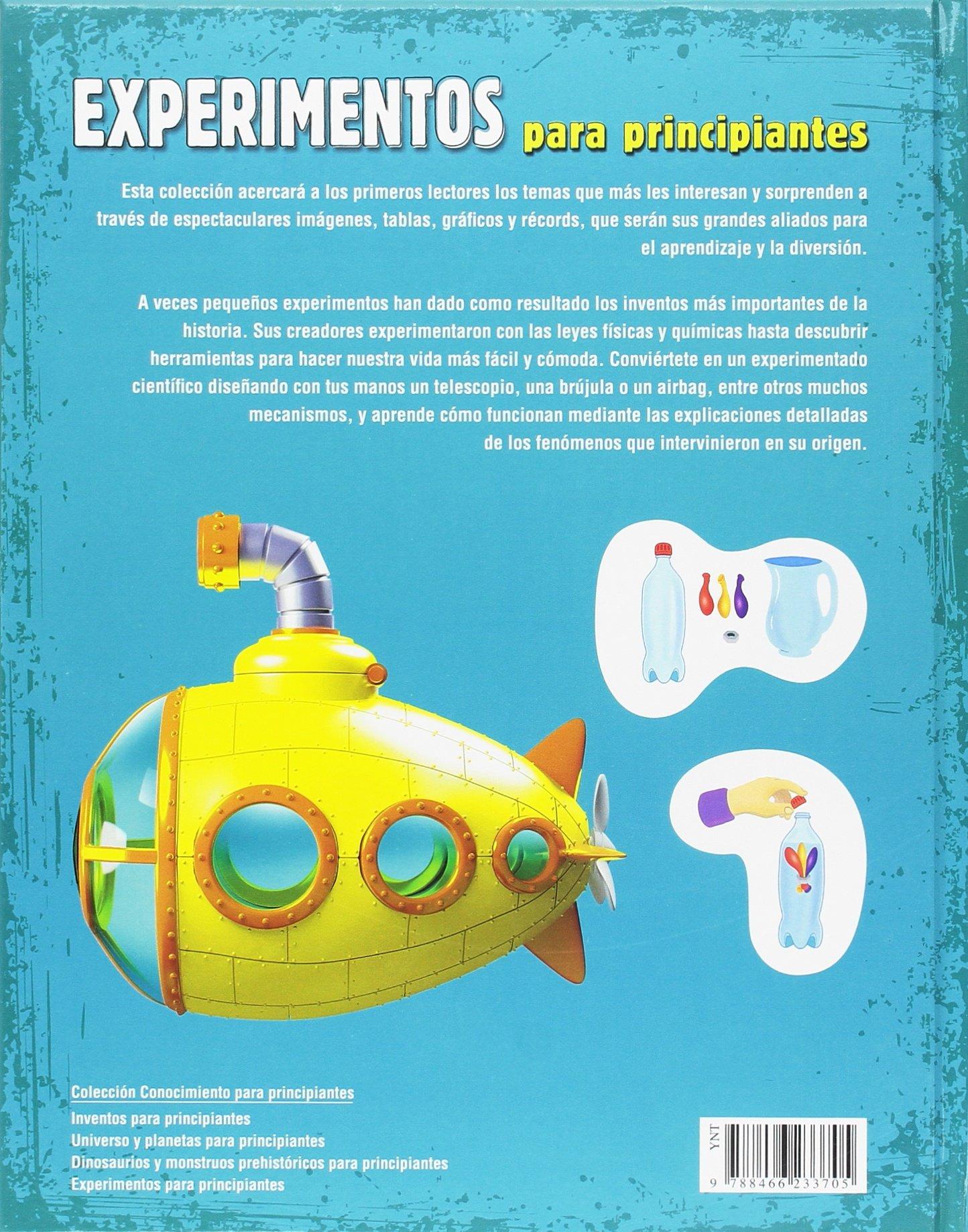 Experimentos para principiantes Conocimiento para Principiantes: Amazon.es: Nuria Penalva Comendador: Libros