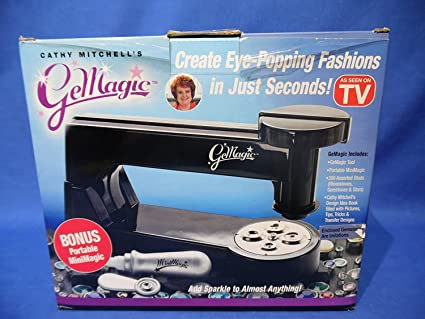 GeMagic     Add Sparkle to Almost Anything     Create Eye-Popping Fashions  in Just Seconds     Includes GeMagic Tool, Portable MiniMagic, 300 Assorted
