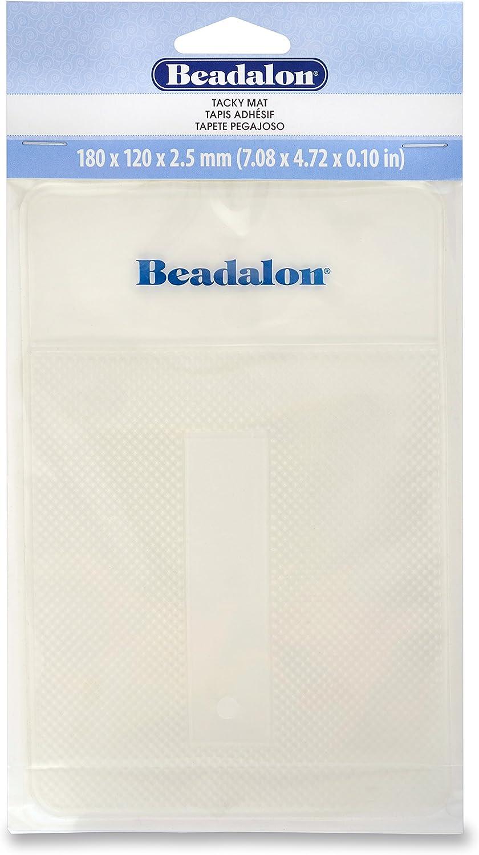 Clear Beadalon 218H-210 Tacky Bead Mat