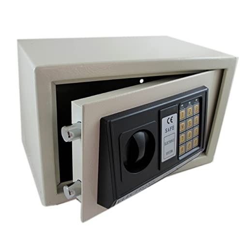 ATE Pro. USA 93417 Digital Electronic Safe Box, 13.78 Height, 9.06 Width, 9.84 Length