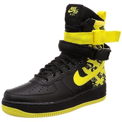 Nike Sf Af1 Mens Ar1955-001 Size, Black/Dynamic Yellow, 10.5 M US | Basketball