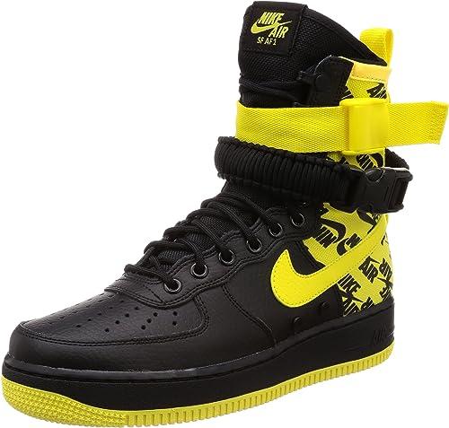 Nike Men's SF AIR Force 1 Shoe Black