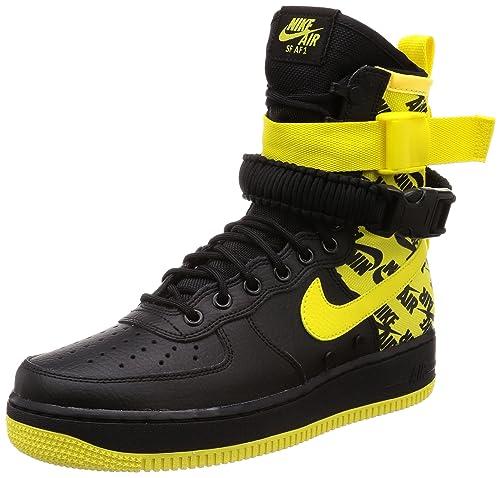 bajo costo diseño exquisito Moda Nike SF Air Force 1 - Zapatillas para Hombre, Color Negro y ...