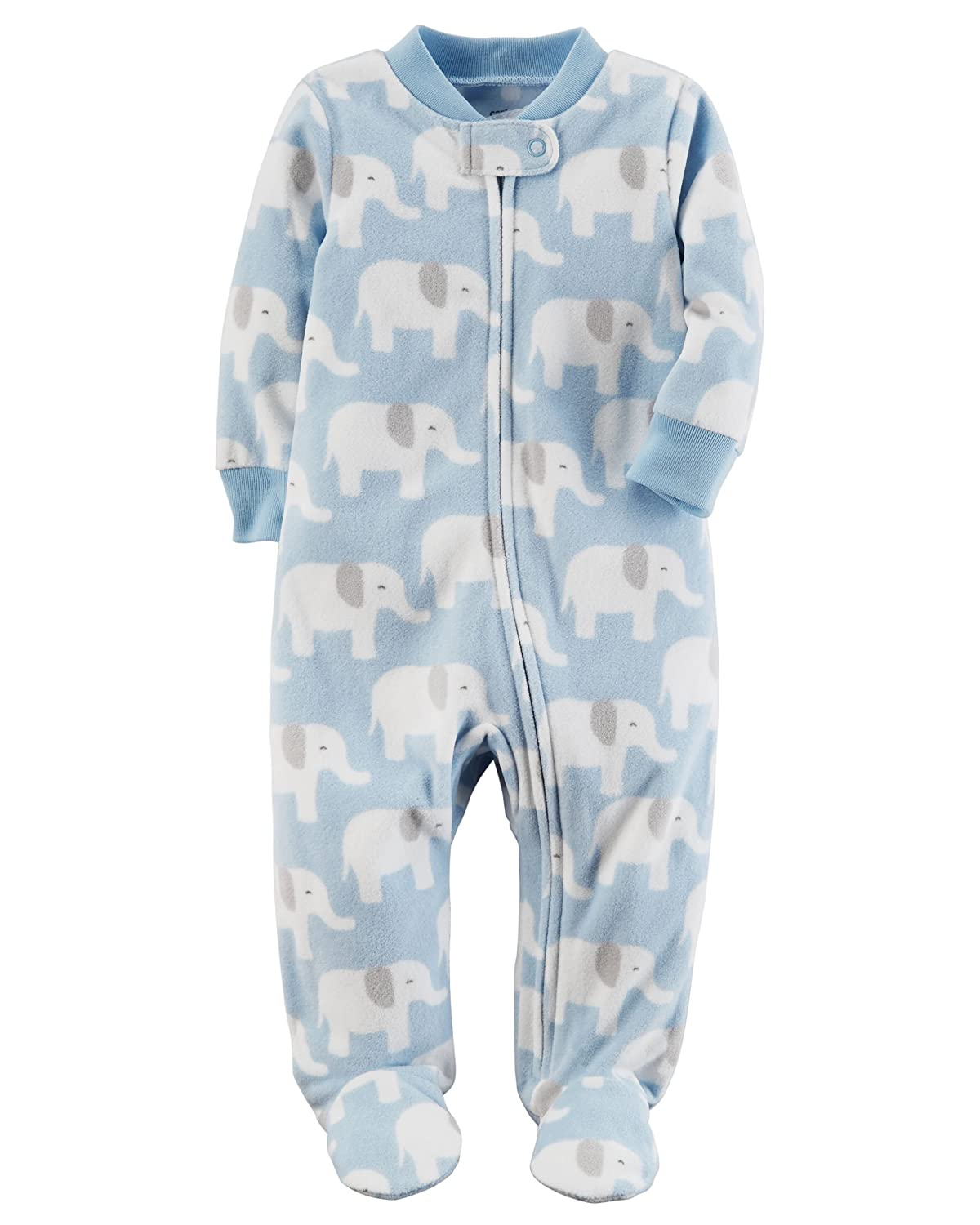 99063a1d4 Amazon.com  Carters Baby Toddler Boys 2 Pack Fleece Footed Pajama ...