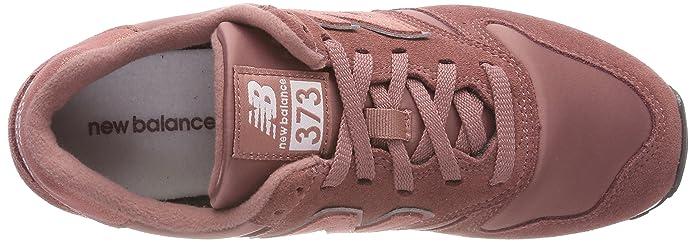 new balance women's 373 trainers orange dark oxide/grey psp