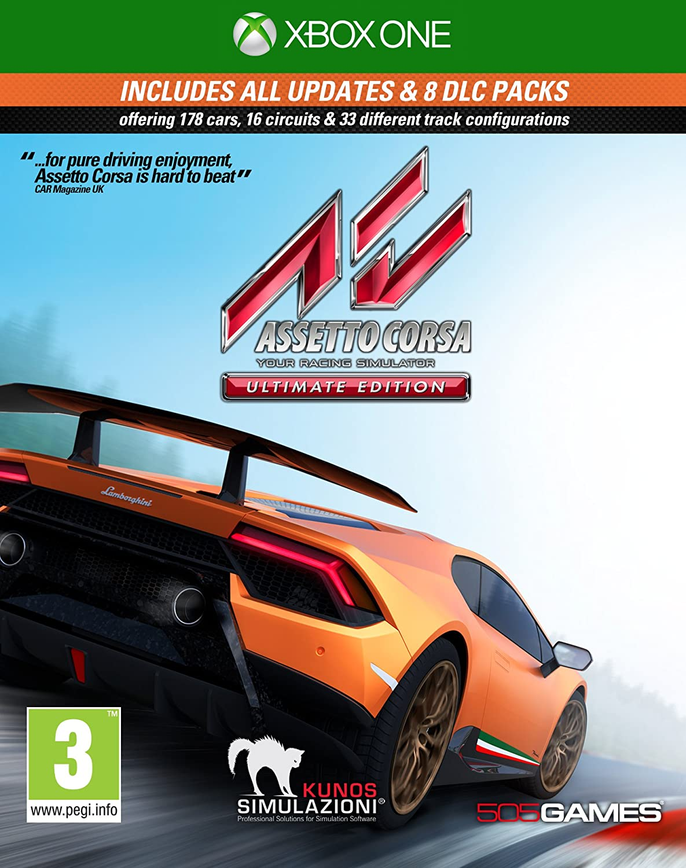 Assetto Corsa Ultimate Edition - Xbox One [Importación inglesa]: Amazon.es: Videojuegos