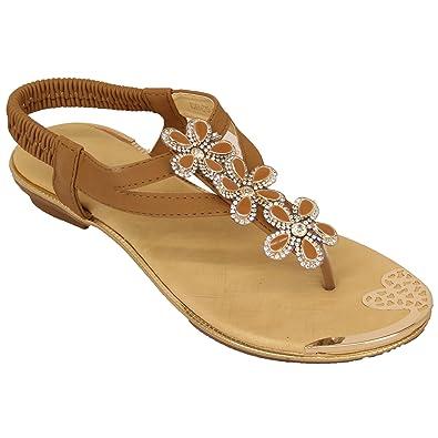 Womens Diamante Sandals DR65