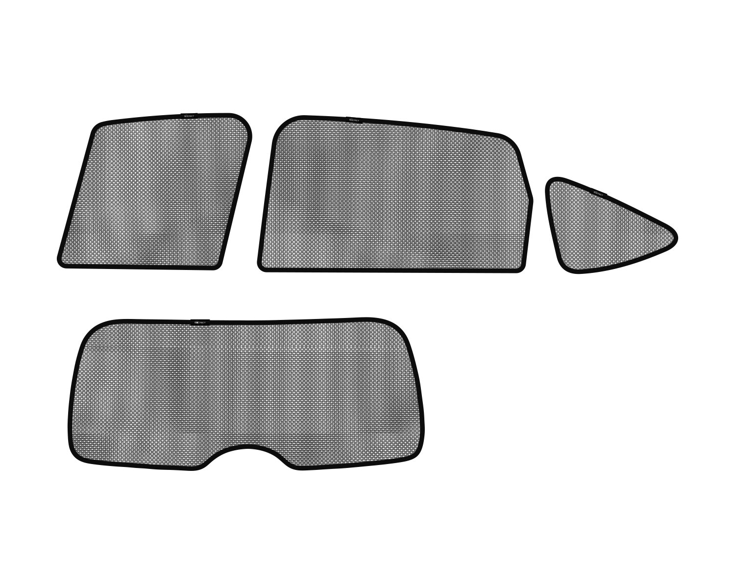 3D MAXpider S1HD0430 3D Soltect Complete Set Custom Fit Sun Shades for Select Honda CR-V Models by 3D MAXpider (Image #1)