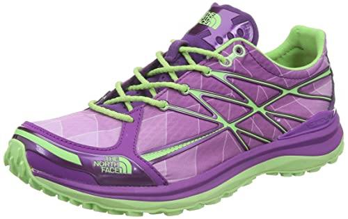 3c930eaf5f2a THE NORTH FACE Women s Ultra Tr Ii Byzantium Purple Paradise Green  Ankle-High Trail