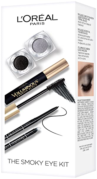 Image Unavailable. Image not available for. Color: L'Oreal Paris Cosmetics Smoky Eye Makeup Kit
