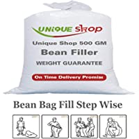 Unique Shop 500 GM Bean Refill for Bean Bag