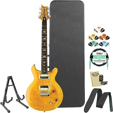 PRS SE Santana (cssy) Santana amarillo guitarra eléctrica w ...