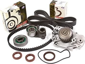 Fit 93-01 Honda Prelude Timing Belt NPW Water Pump Valve Cover Tensioner H22A4