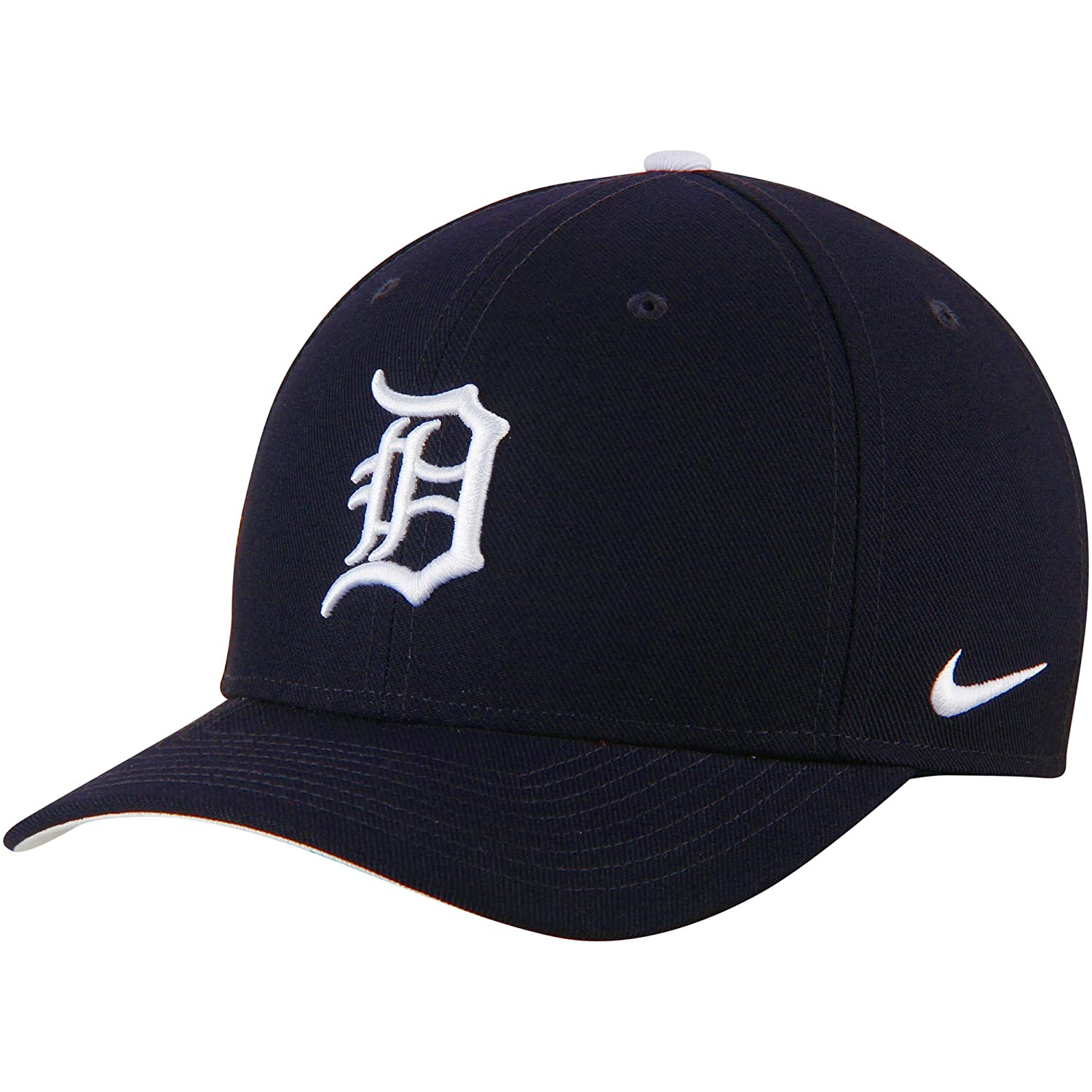 lowest price b8db7 d8e41 Amazon.com   Nike Detroit Tigers Wool Classic Adjustable Performance Hat  Navy   Sports   Outdoors