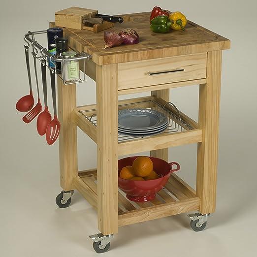 Amazon.com: Chris U0026 Chris Jet1226 Pro Chef Kitchen Work Station, 24 By 24  By 35 Inch, Espresso: Kitchen U0026 Dining