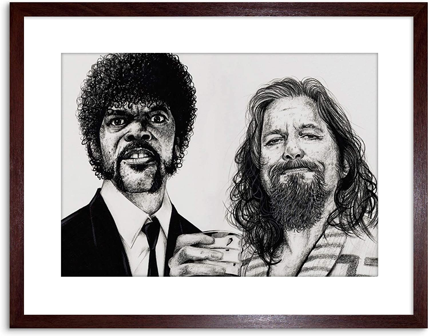 BIG LEBOWSKI WALL ART CANVAS PRINT PICTURE VARIETY OF SIZES FREE UK POSTAGE