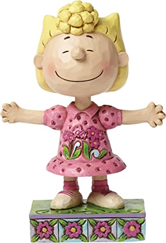 Enesco 4049406 Peanuts by Jim Shore Sally Personality Pose Figurine